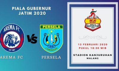 Prediksi Arema FC vs Persela: Pertandingan Piala Gubernur Jatim 2020 Grup B - 13 Februari 2020 - Live Streaming Link