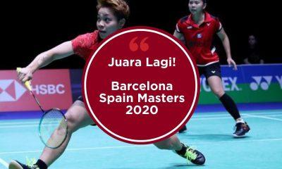 Greysia Polii/Apriyani Rahayu Raih Juara di Barcelona Spain Masters 2020