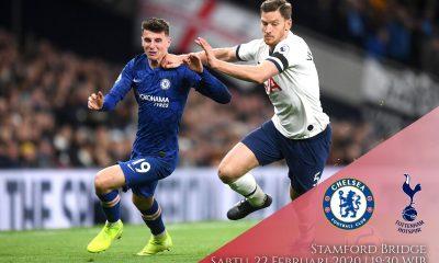 Prediksi Chelsea vs Tottenham: Pertandingan Liga Inggris Pekan Ke-27 - 22 Februari 2020 - Live Streaming Link