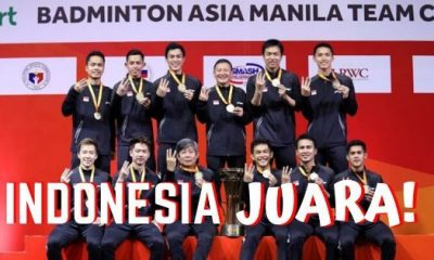 Indonesia Juara! Hasil Final Kejuaraan Badminton Asia Team Champioships 2020: Indonesia vs Malaysia