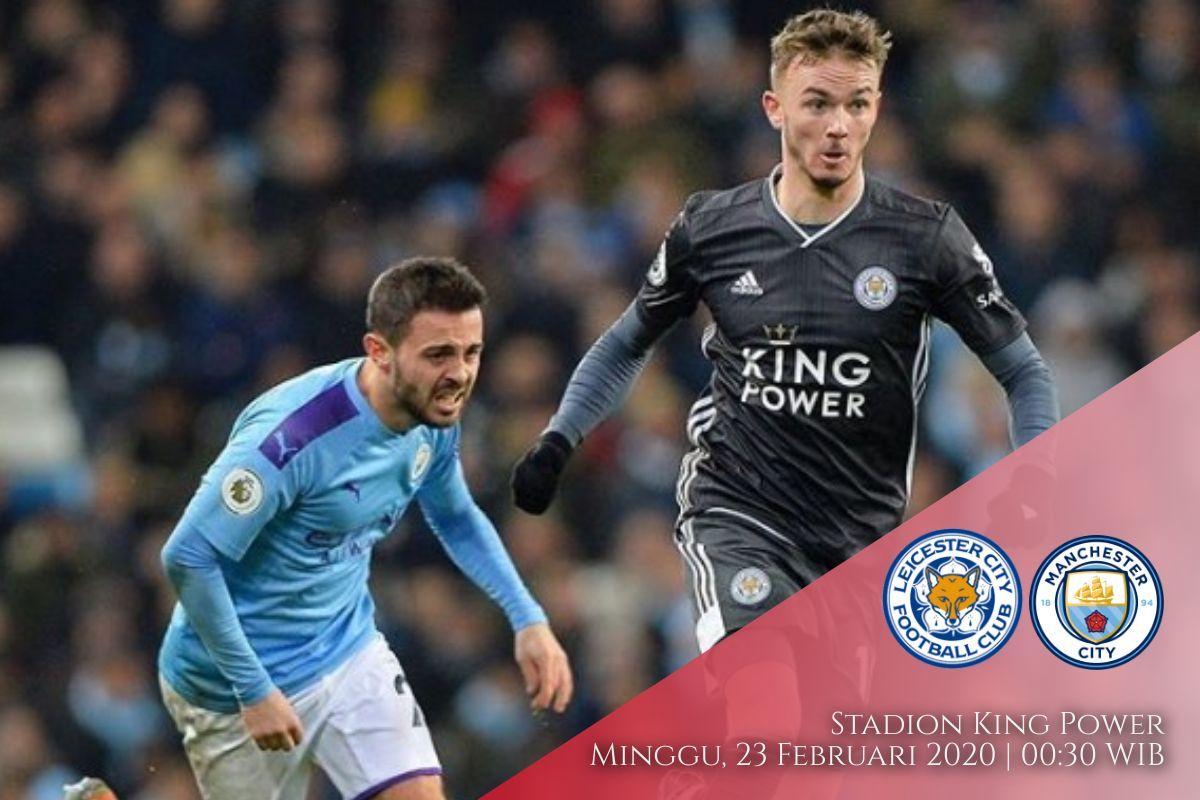 Prediksi Leicester vs Manchester City: Pertandingan Liga Inggris Pekan Ke-27 - 23 Februari 2020 - Live Streaming Link