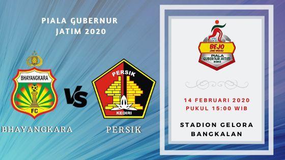 Prediksi Persik vs Bhayangkara FC: Pertandingan Piala Gubernur Jatim 2020 Grup A - 14 Februari 2020 - Live Streaming Link