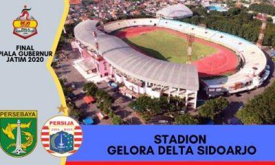 Final Persebaya vs Persija di Stadion Gelora Delta Sidoarjo