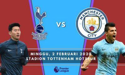Prediksi Tottenham vs Manchester City: Big Match Liga Inggris Pekan ke 25 – 2 Februari 2020 – Live Streaming