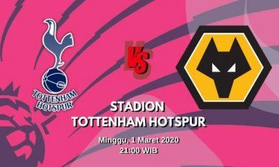 Prediksi Tottenham vs Wolves: Pertandingan Liga Inggris Pekan Ke-28 - 1 Maret 2020 - Live Streaming Link