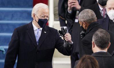 Joe Biden di Hari Pelantikkannya