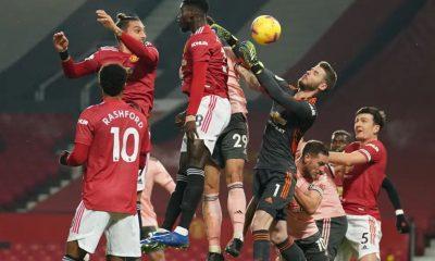 Man Utd Vs Sheffield Utd. Manchester United kalah dengan skor akhir 2-1