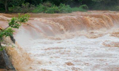 Ilustrasi Banjir Bandang yang Menimpa Gunung Mas Bogor.