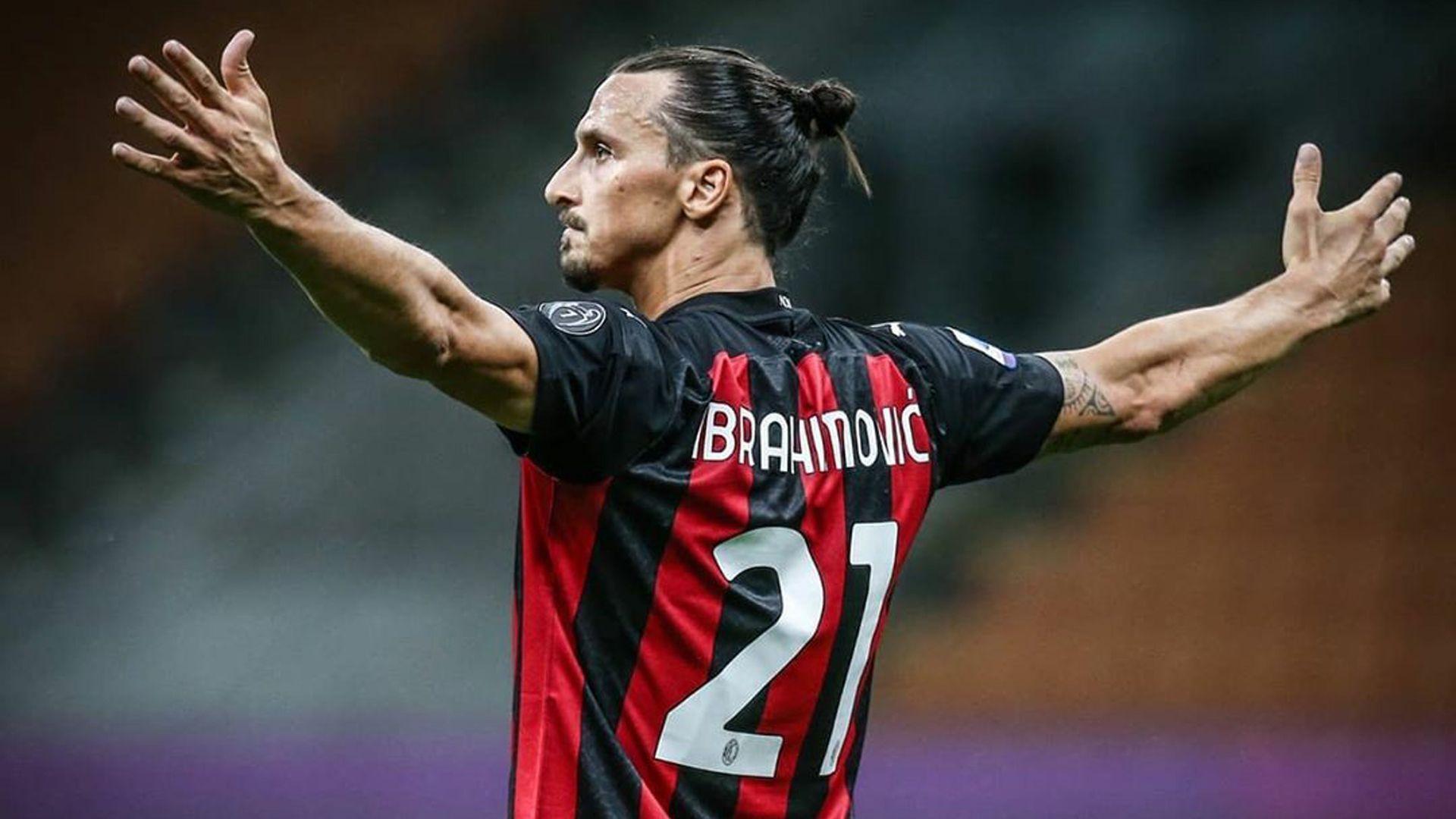 Ibrahimovic dalam sebuah pertandingan Inter Milan