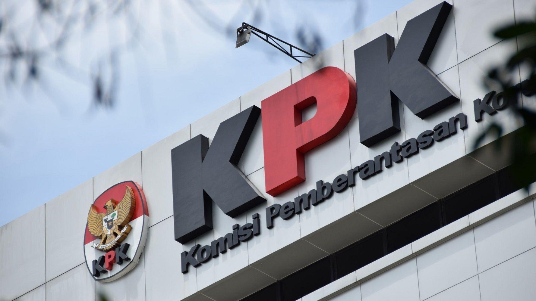 Logo KPK di Gedungnya