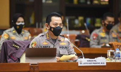 Listyo Sigit Prabowo saat masih menjabat sebagai Komjen Pol. Hari ini ia dilantik sebagai Kapolri