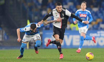 Juventus vs Napoli di Coppa Italia 2019/2020