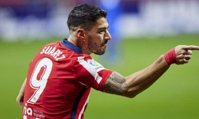 Suarez Saat Membawa Kemenangan Untuk Atletico Madrid
