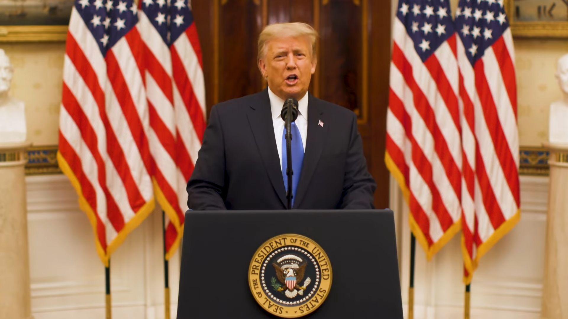 Pidato Perpisahan Donald Trump