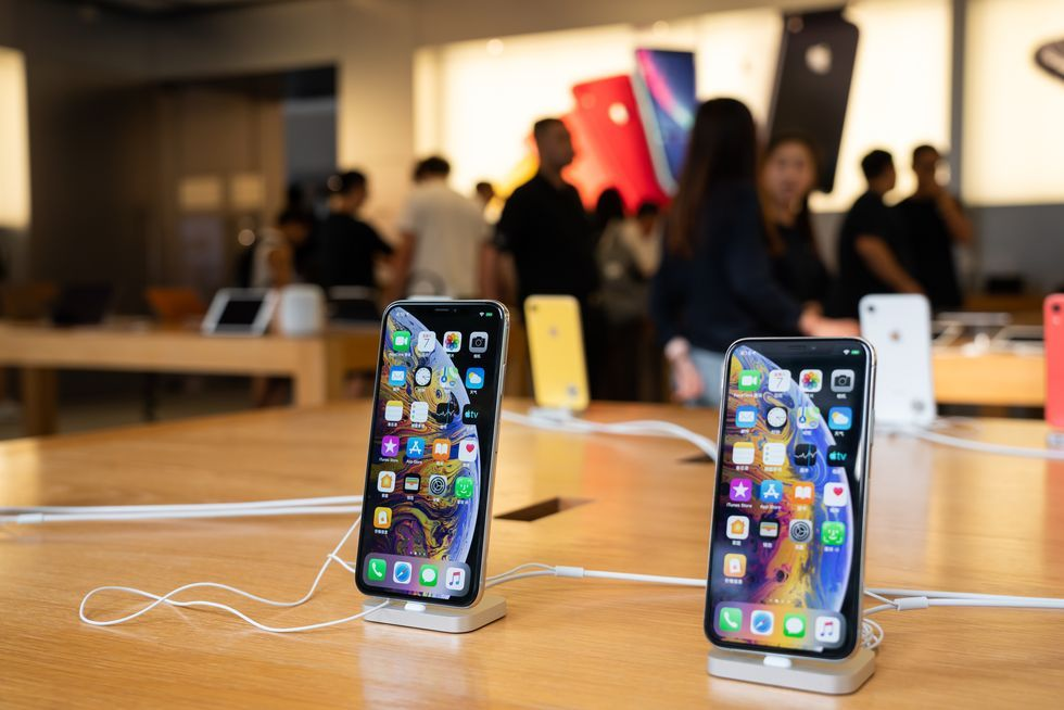 iPhone di Apple Store