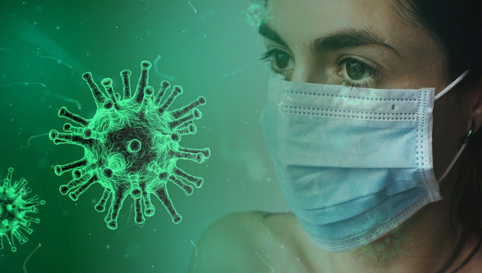 Ilustrasi penambahan kasus coronavirus di Indonesia