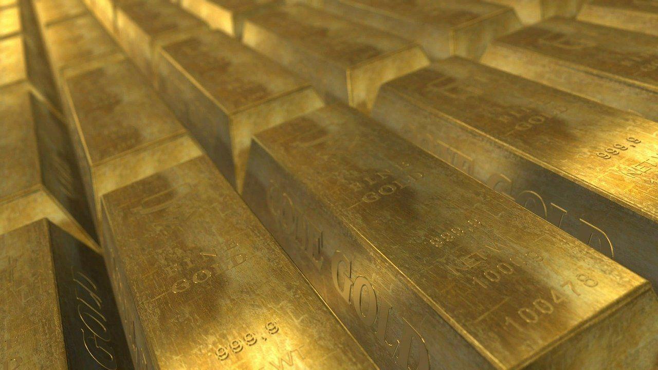 Emas batangan. PT Antam harus membayar 1,1 ton emas kepada Budi Said.