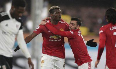 Pogba mencetak gol kemenangan untuk Manchester United.