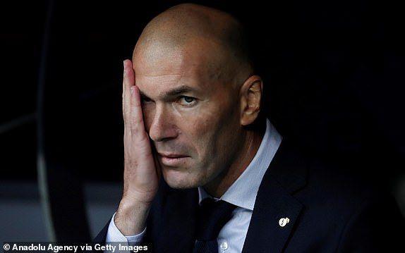 Zidane bertanggung jawab atas kekalahan Real Madrid