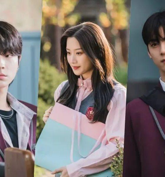 Hwang In Yeop, Moon Ga Young, dan Cha Eun Woo dalam Drama Korea True Beauty