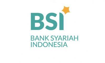 Logo Bank Syariah Indonesia yang akan diresmikan hari ini berwarna hijau oranye